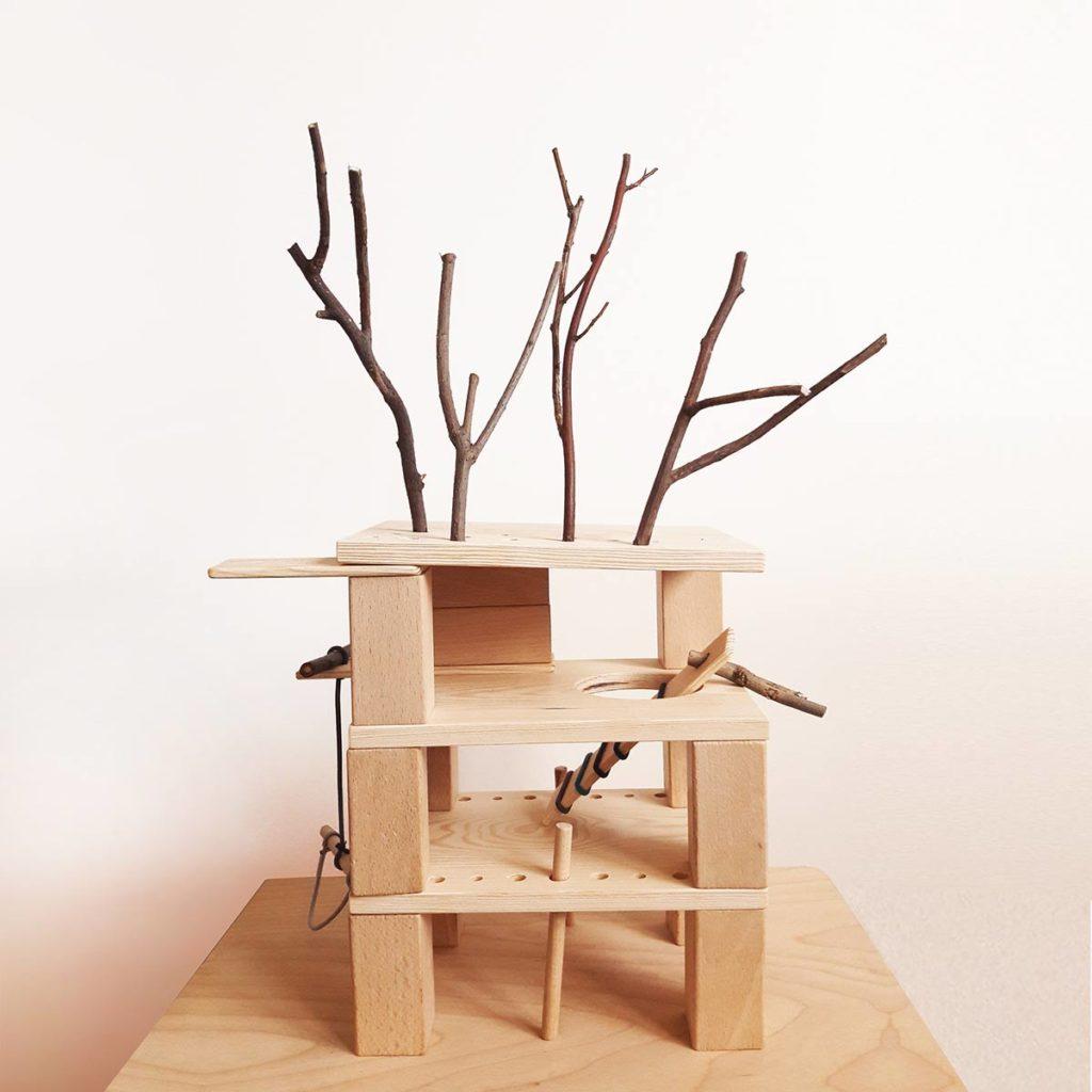 drewniana zabawka edukacyjna